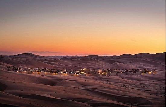 如果你想在沙漠中需找一个歇身处,来苏海勒看看吧 图片来源:shutterstock