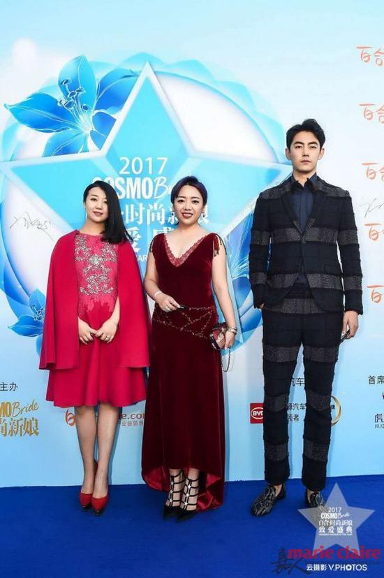 时尚致爱创始人冷雨璇女士、 百合网婚礼事业部总裁刘晓端女士、 著名模特纪凌尘先生