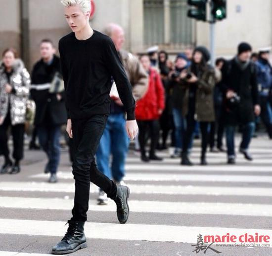 Lucky Blue Smith和姐姐