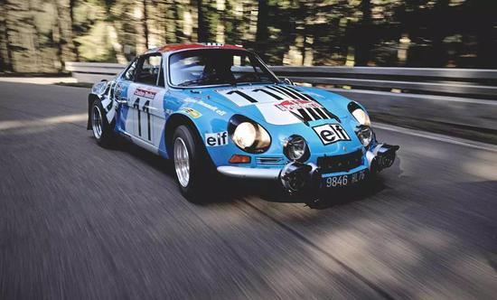 老款Alpine A110