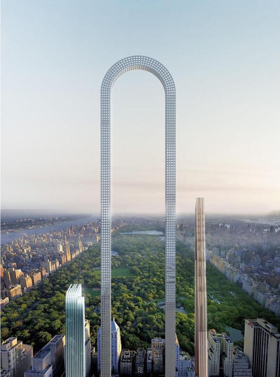 """全世界最夸张的""""曲别针""""摩天大楼方案诞生了!"""