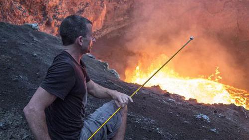 至于火山口烤棉花糖什么的,难度太大,大家看看就行了