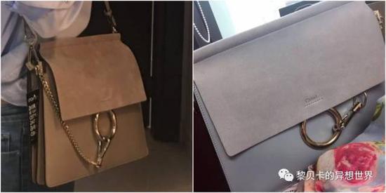 微:小号的chloe风琴包。这个包是朋友从美国带回来的,价格9000左右。