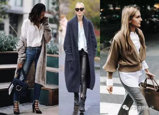 4 用特殊设计的内搭blouse,增加亮点