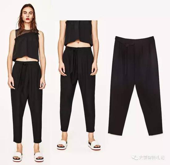 没错,就是我们杰伦小公举特别喜欢穿的那种裤子。鬼知道裆这么低、这么显腿短的裤子为啥公举穿的那么起劲嘤嘤嘤…