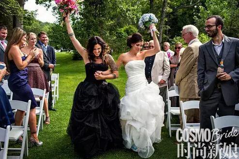 同性婚礼照告诉你:爱情无关性别