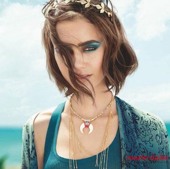 ▲Lily Collins