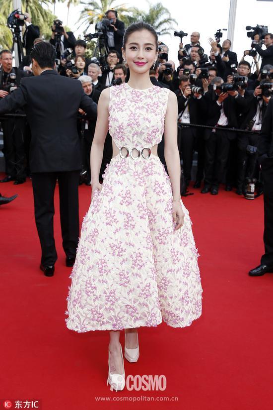 戛纳电影节 礼服:Christian Dior2015春夏高定系列