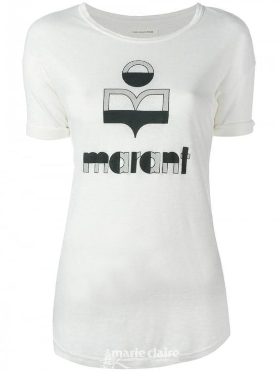 ISABEL MARANT éTOILE标志印花T恤$220