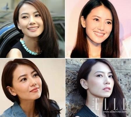 化妆技巧 刘诗诗偏分这么美 全靠放一半夹一半的套路 美容护肤 图5