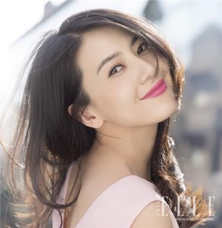 化妆技巧 刘诗诗偏分这么美 全靠放一半夹一半的套路 美容护肤 图17