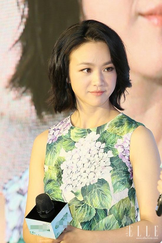 刘诗诗短发变少女 汤唯短发老十岁 剪了短发后会上瘾 风格偶像 图8