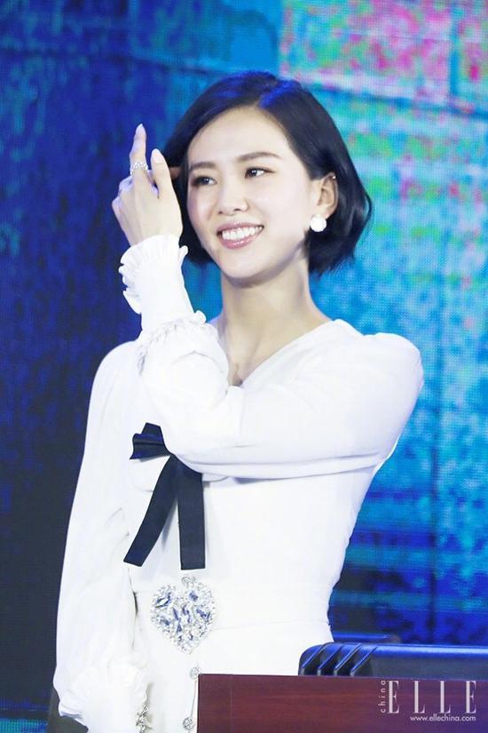 刘诗诗短发变少女 汤唯短发老十岁 剪了短发后会上瘾 风格偶像 图5