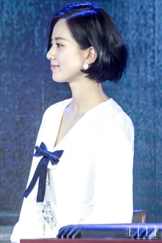 刘诗诗短发变少女 汤唯短发老十岁 剪了短发后会上瘾 风格偶像 图11