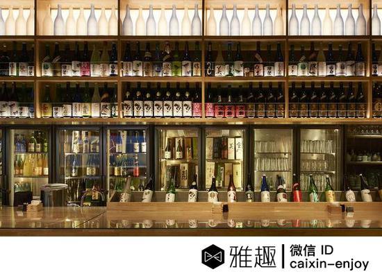 北京一家装修时髦的居酒屋