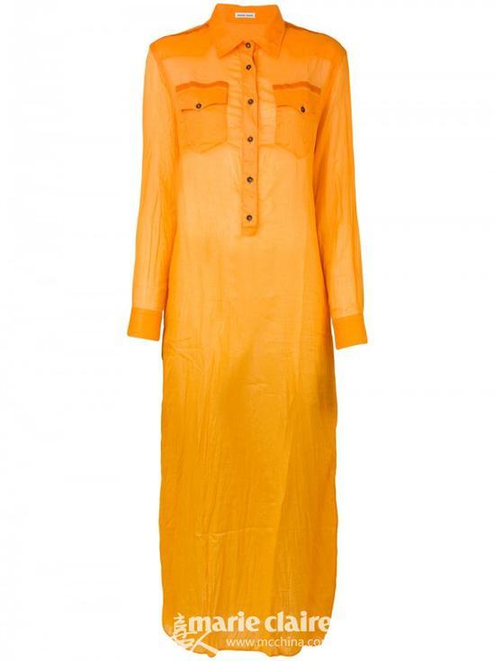TOMAS MAIER长款衬衫裙¥2,506