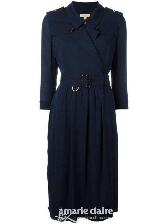 BURBERRY 收腰衬衫式连衣裙¥7,295