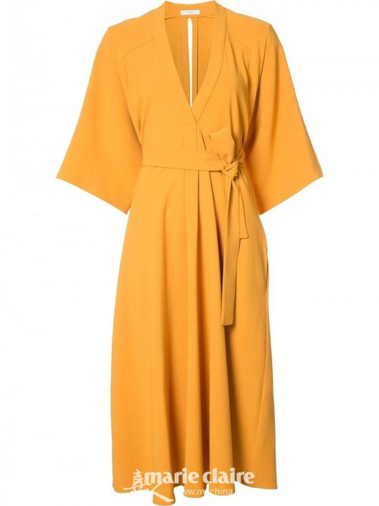 TOME和服式系腰带连衣裙¥5,667