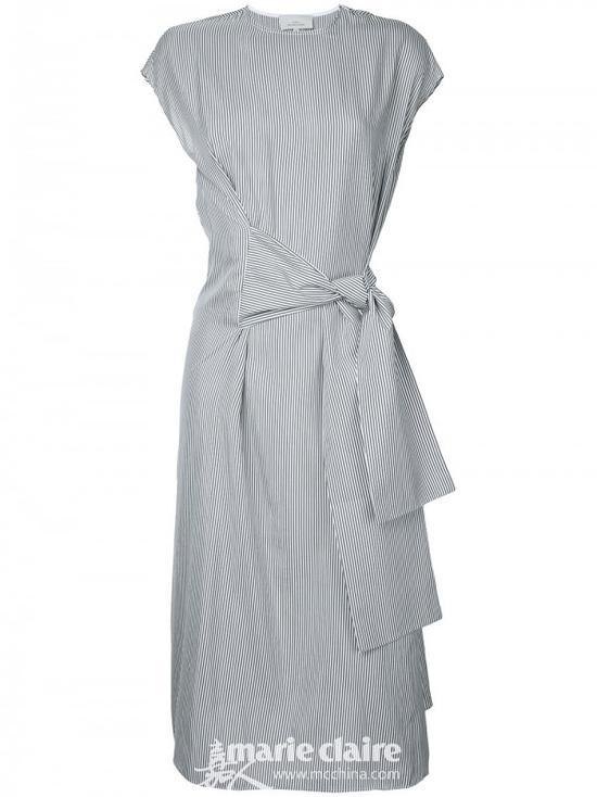 STUDIO NICHOLSON包裹连衣裙¥3,995