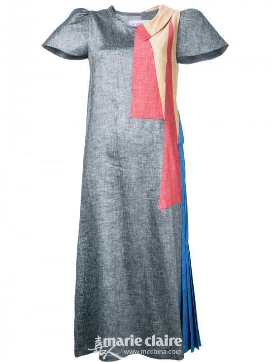 BINTTHANI 垫肩连衣裙¥7,969