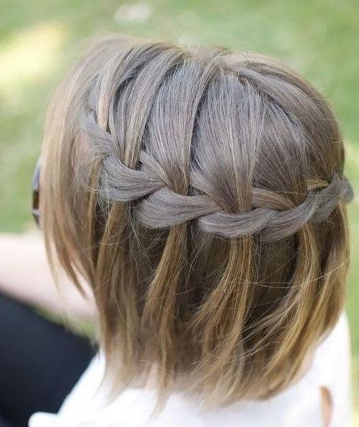 短发也要凹造型 8种编发让短发重获新生庞妍姘