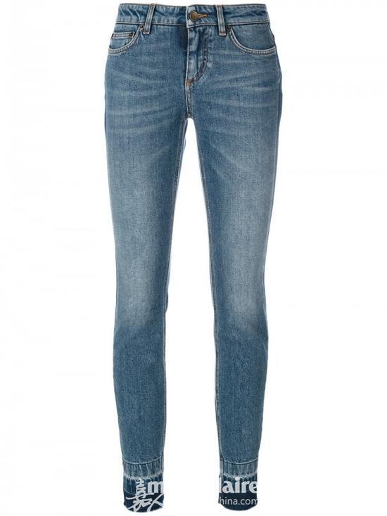 DOLCE & GABBANA 紧身牛仔裤¥4,270