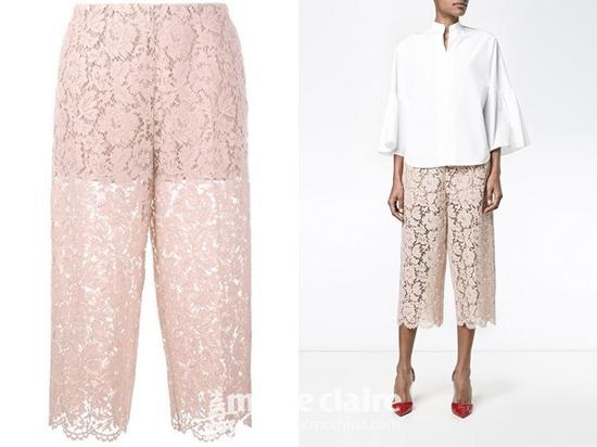 Valentino 镂空蕾丝长裤