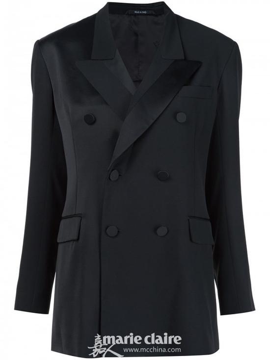 MAISON MARGIELA 双排扣西装外套¥8,552