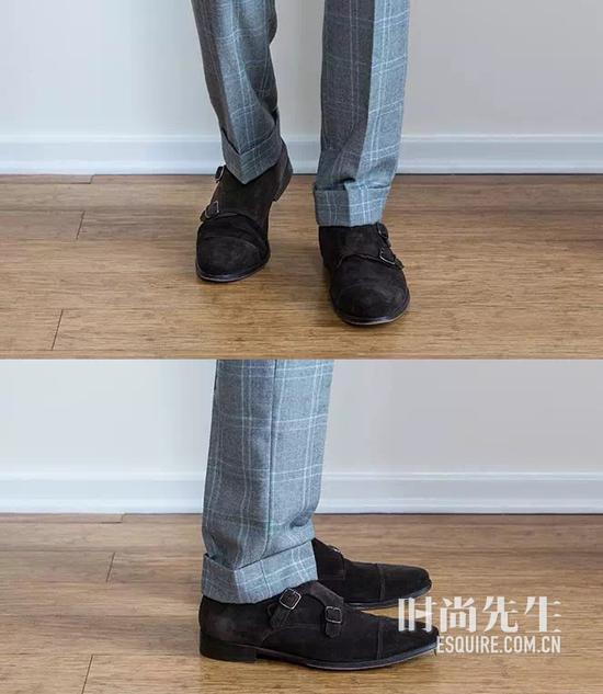 裤子长度年夜有讲求 露脚踝究竟对错误?