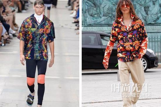 Louis Vuitton(左)sss worl corp(右)