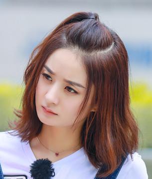 椭圆形脸-周冬雨的杨桃辫赵丽颖的苹果头 我也想要时髦水果发型