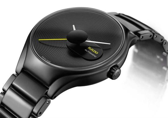 RADO瑞士雷达表True真系列非凡圆纹腕表
