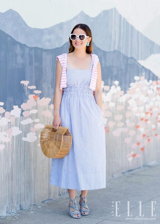 不够瘦的女生真的能靠穿裙子遮肉?她做到了【图】 21