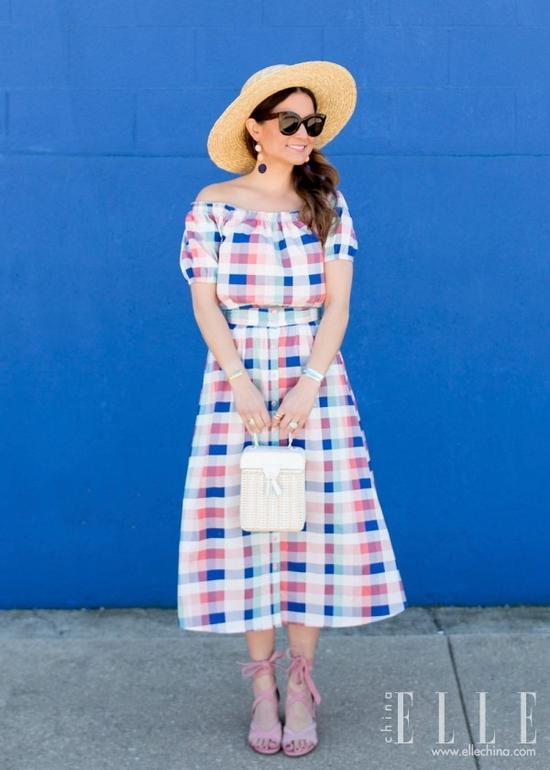 不够瘦的女生真的能靠穿裙子遮肉?她做到了【图】 39