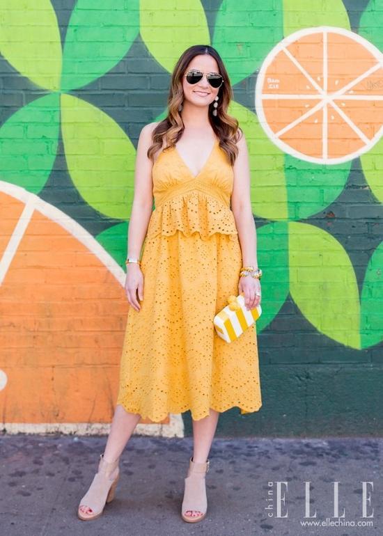 不够瘦的女生真的能靠穿裙子遮肉?她做到了【图】 9