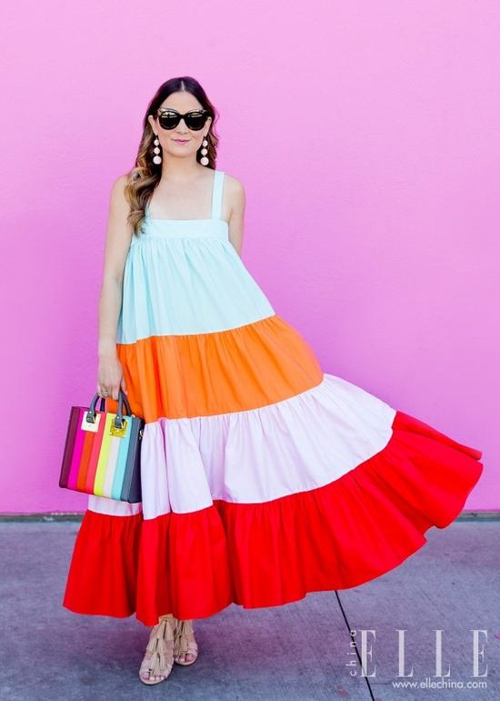 不够瘦的女生真的能靠穿裙子遮肉?她做到了【图】 19