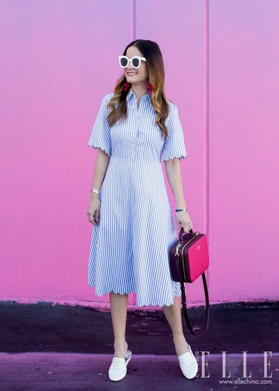 不够瘦的女生真的能靠穿裙子遮肉?她做到了【图】 24