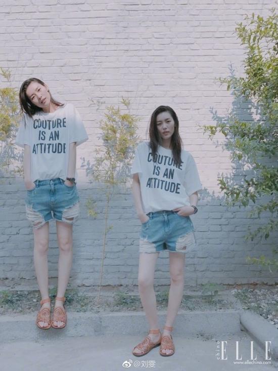 不知道穿什么就去看刘雯的微博