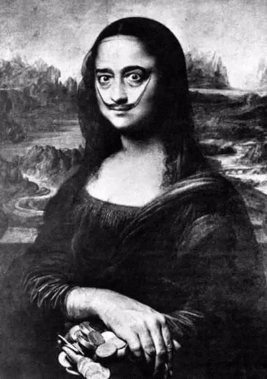 达利的蒙娜丽莎