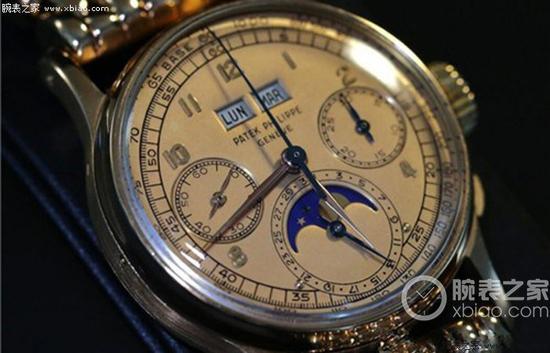 百达翡丽1518万年历计时腕表(黄金款)