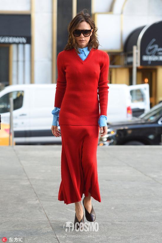 周迅穿针织裙简直不能更美!其实你也可以
