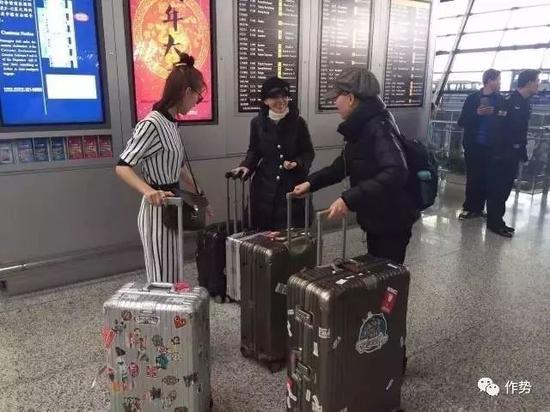 老少通吃,男女都喜欢,甚至连别家行李箱的代言人井柏然也不避嫌地推着。