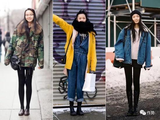 """为什么作势君要特别提到""""纽约下城""""?因为雎晓雯真的在那里待了很久时间,还谈了一场恋爱,所以穿衣风格也受到影响。"""