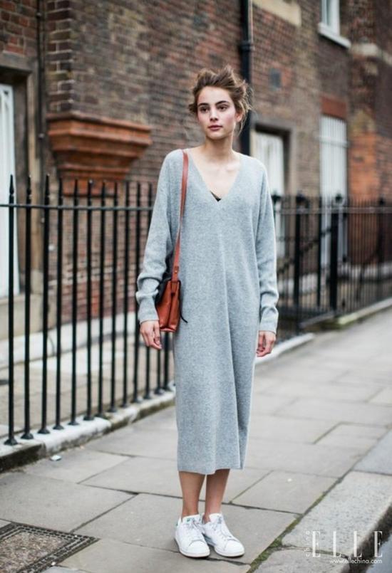 秋天必备的长袖连衣裙,今年要穿这些款