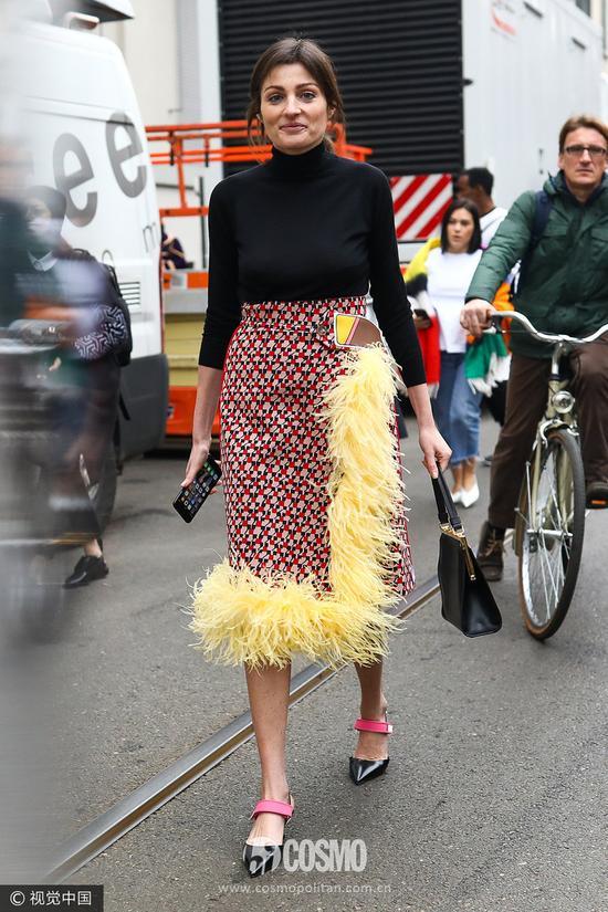 夏天是连衣裙的天下 秋冬一定是毛呢裙主场!