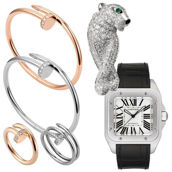 卡地亚珠宝腕表,图片来源卡地亚。