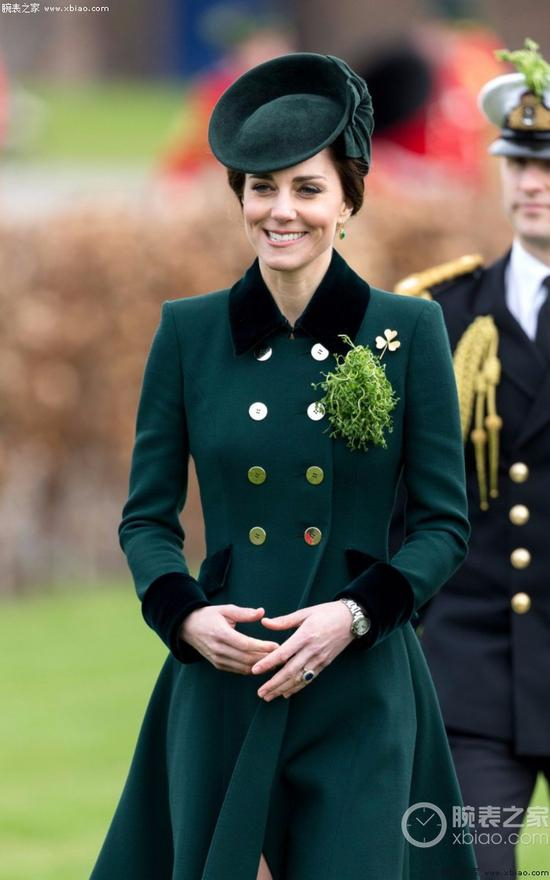 高贵的皇室王妃 不爱手镯爱手表的大有人在