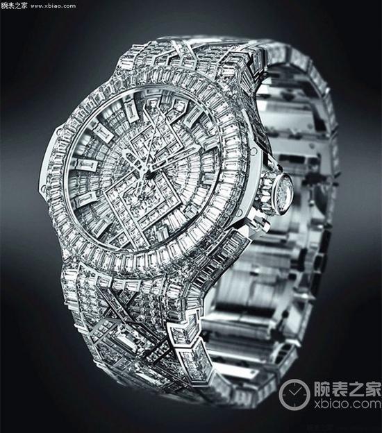 宇舶Big Bang钻石珠宝腕表