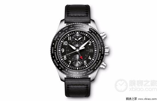 万国飞行员世界时计时腕表