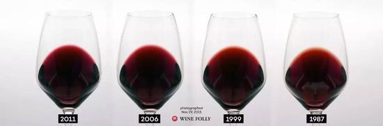 葡萄酒的颜色在一定程度上反映了它的年